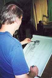 Drawing Bonnie