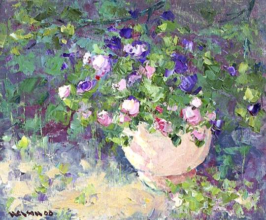 Impatiens in the Shade