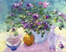 Impatiens and Fine China