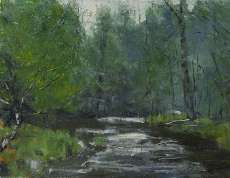 Rainy Day on the Black River