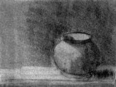 Still Life with Ceramic Pot