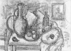 Imaginary Still Life (after Cezanne)